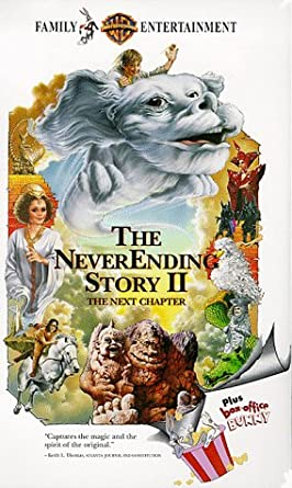 The Neverending Story II The Next Chapter (1991-2001 VHS)