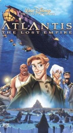 Atlantis: The Lost Empire (2002 VHS/DVD)