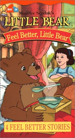 Little Bear: Feel Better Little Bear (2003 VHS)
