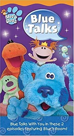 Blue's Clues: Blue Talks (2004 VHS)