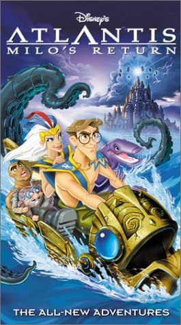 Atlantis: Milo's Return (2003 VHS)