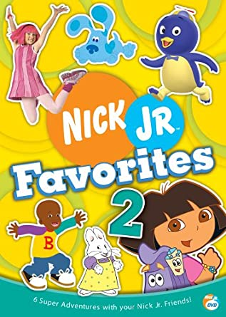 Nick Jr Favorites 2 (2005 DVD)