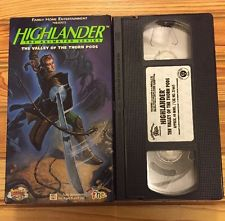 Highlander: The Animated Series: The Valley of the Thorn Pods (1996 VHS)