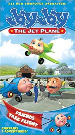 Jay Jay the Jet Plane: Friends Take Flight (2002 VHS)