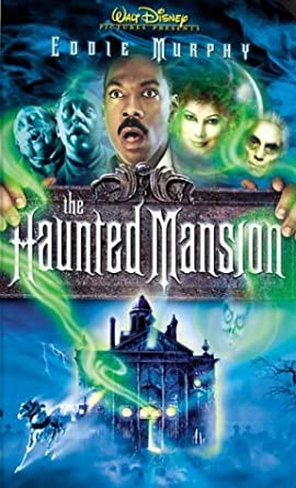 The Haunted Mansion (2004 VHS)