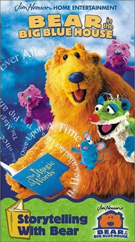 Bear in the Big Blue House: Storytelling with Bear (2001 VHS)