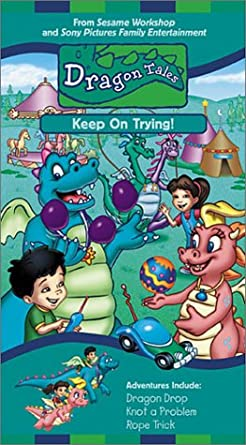 Dragon Tales: Keep on Trying! (2001 VHS)