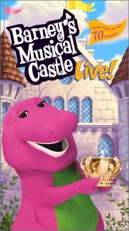 Barney: Barney's Musical Castle Live (2001 VHS)
