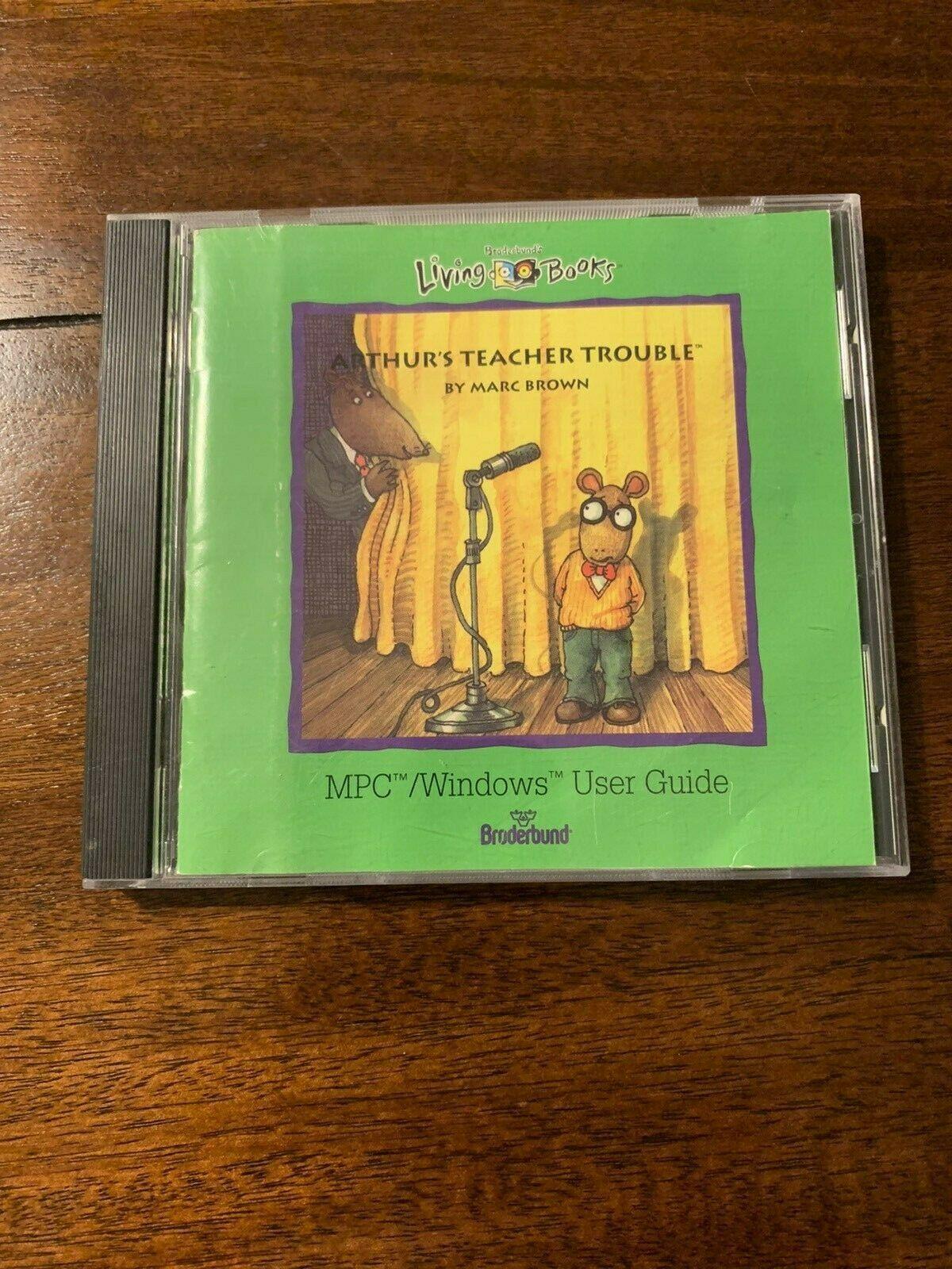 Arthur's Teacher Trouble (1992 PC Game)