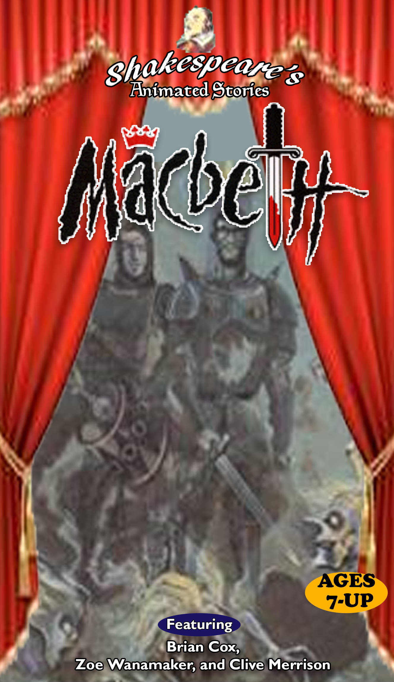 Shakespeare's Animated Stories: Macbeth (1997 VHS)
