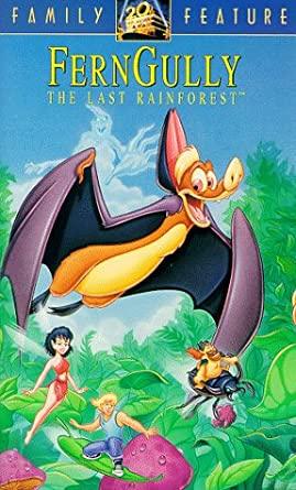 FernGully: The Last Rainforest (1992 VHS)