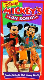 Disney's Sing-Along Songs: Beach Party at Walt Disney World (1995-1996 VHS)