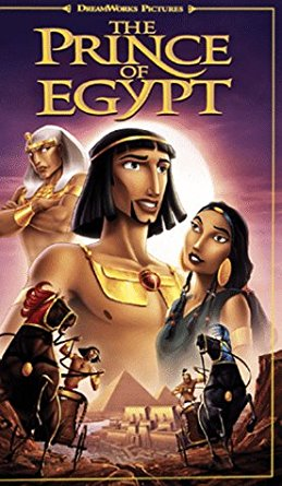The Prince of Egypt (1999 VHS)