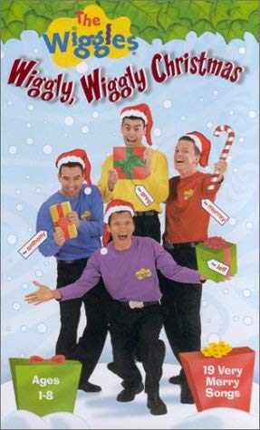 The Wiggles: Wiggly, Wiggly Christmas (2000-2002 VHS)