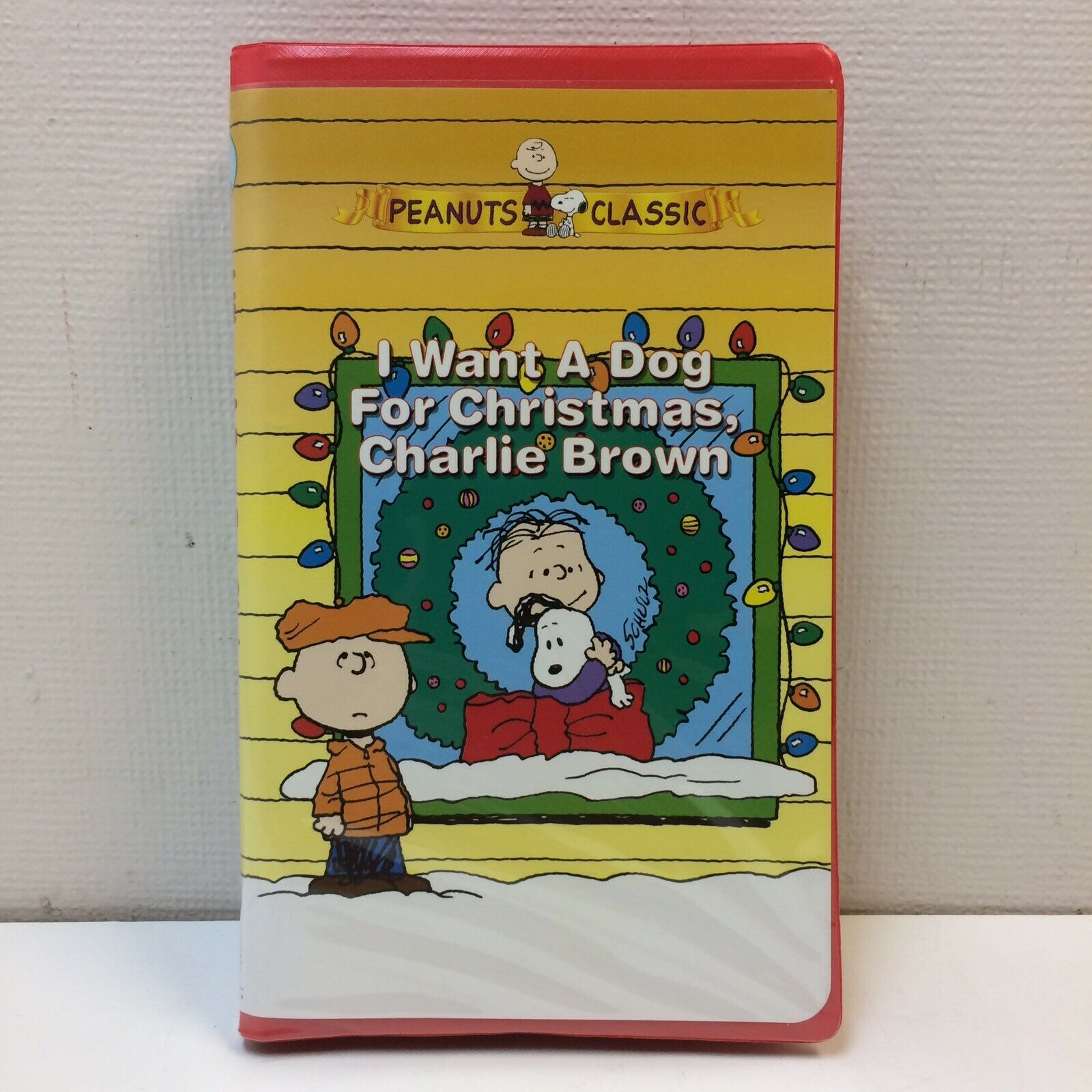 Peanuts: I Want a Dog for Christmas Charlie Brown (2004 VHS)