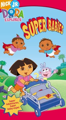 Dora the Explorer: Super Babies (2005 VHS)