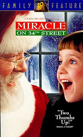 Miracle on 34th Street (1995 VHS)