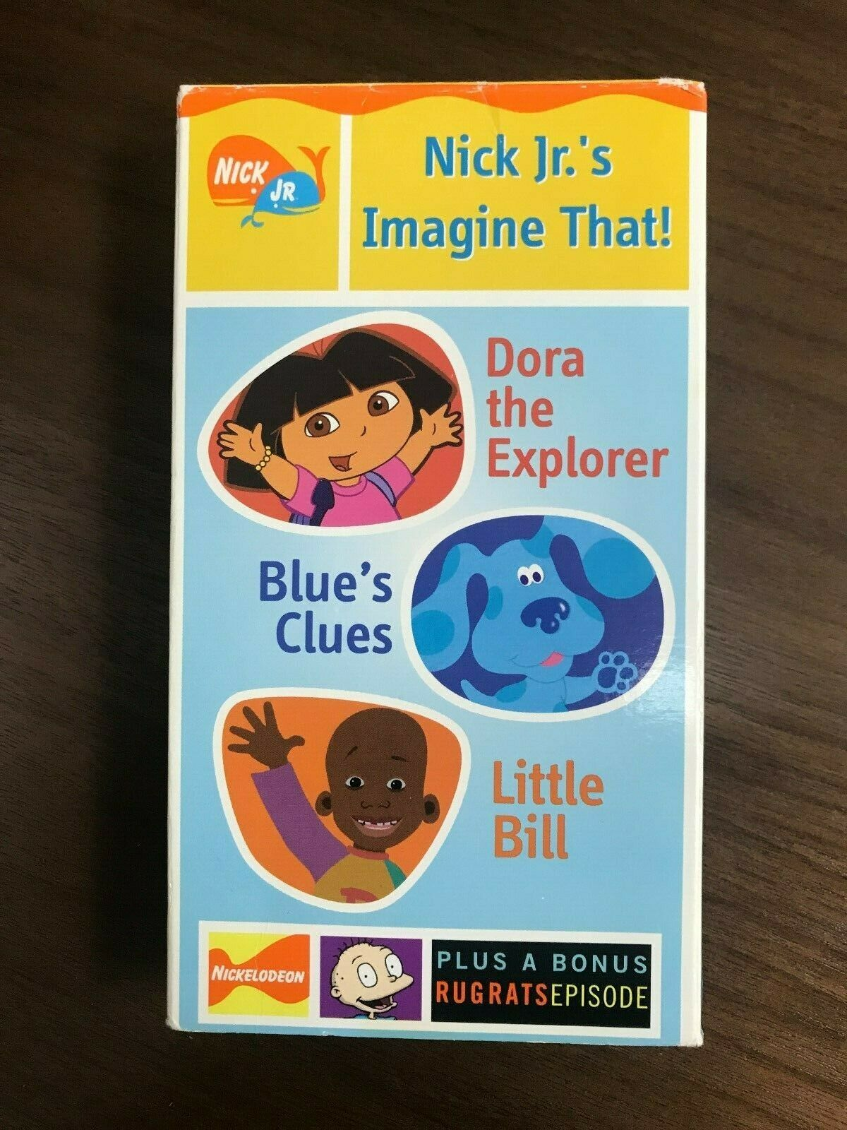 Nick Jr's Imagine That! (2001 VHS)