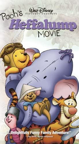 Pooh's Heffalump Movie (2005 DVD/VHS)
