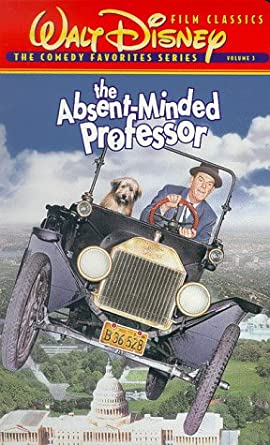 The Absent-Minded Professor (1992-1998 VHS)