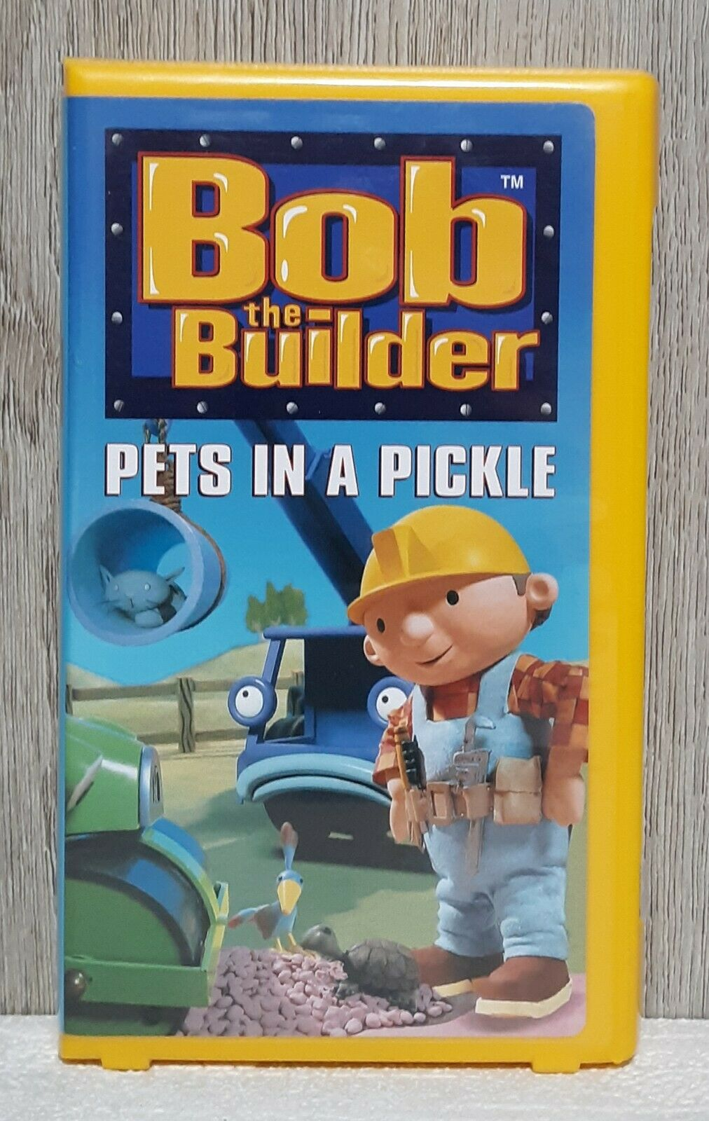 Bob the Builder: Pets in a Pickle (2001 VHS)