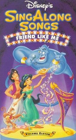Disney's Sing-Along Songs: Friend Like Me (1993-1994 VHS)