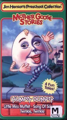 Mother Goose Stories: Humpty Dumpty (1995 VHS)