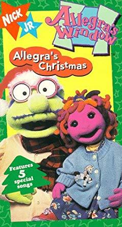 Allegra's Window: Allegra's Christmas (1996 VHS)