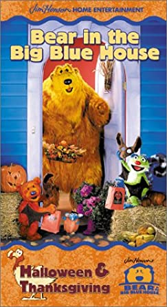 Bear in the Big Blue House: Halloween and Thanksgiving (2000 VHS)