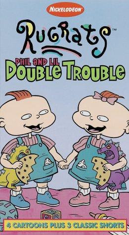 Rugrats: Phil & Lil Double Trouble (1996 VHS)