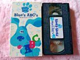 Blue's Clues: Blue's ABC's (Special Teacher's Edition) (1998 VHS)