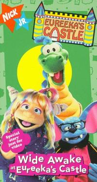 Eureeka's Castle: Wide Awake at Eureeka's Castle (1997 VHS)