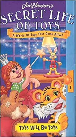 Secret Life of Toys: Toys Will Be Toys (1995 VHS)