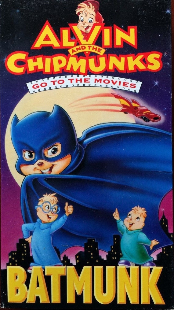 Alvin and the Chipmunks Go to the Movies: Batmunk (1992 VHS)
