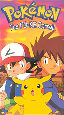 Pokemon The PO-KE Corral! (2000 VHS)