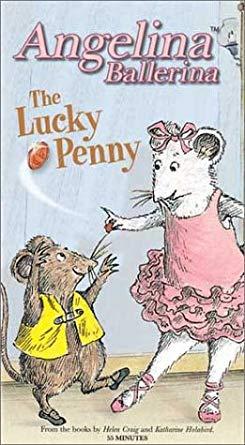 Angelina Ballerina: The Lucky Penny (2003 VHS)