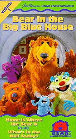 Bear in the Big Blue House: Volume 1 (1998 VHS)