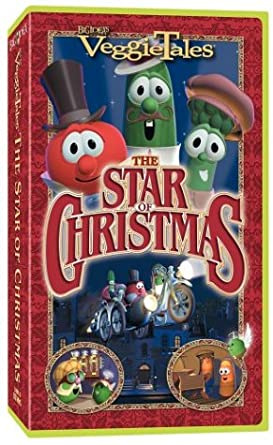 VeggieTales: The Star of Christmas (2002 VHS)
