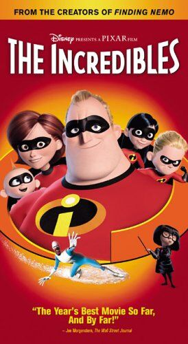 The Incredibles (2005 DVD/VHS)