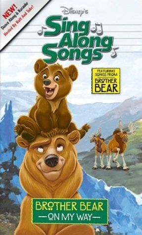 Disney's Sing-Along Songs: Brother Bear On My Way (2003 VHS)
