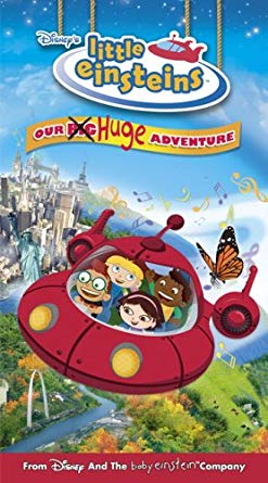 Little Einsteins Our Huge Adventure (2005 VHS)