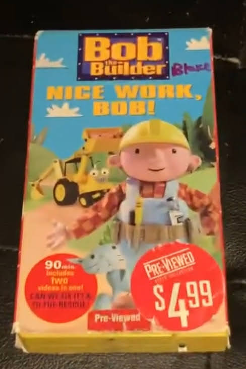Bob the Builder: Nice Work, Bob! (2001 VHS)
