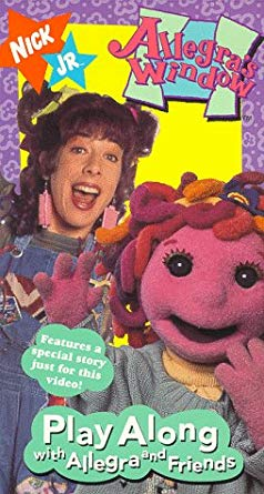 Allegra's Window: Play Along With Allegra and Friends (1997 VHS)