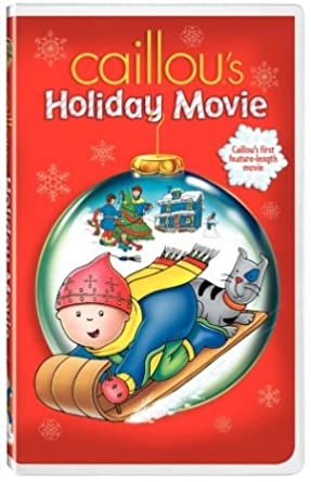 Caillou's Holiday Movie (2003 VHS)