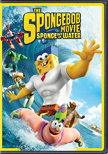 The SpongeBob Movie: Sponge Out of Water (2015 DVD)