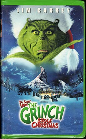 How the Grinch Stole Christmas (2001 DVD/VHS)