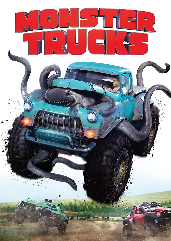 Monster Trucks (2017 DVD)