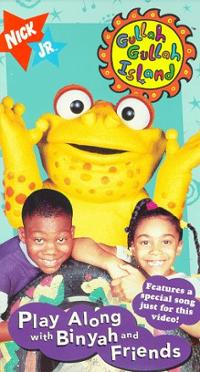 Gullah Gullah Island: Play Along With Binyah and Friends (1997 VHS)