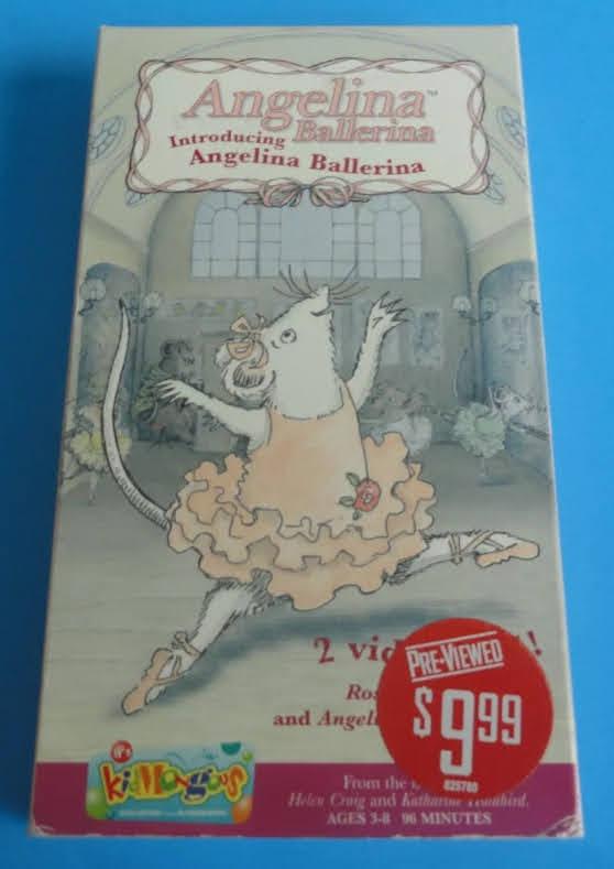 Angelina Ballerina: Introducing Angelina Ballerina (2002 VHS)