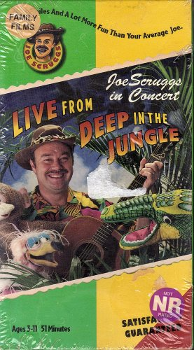 Joe Scruggs: Live Deep in the Jungle (1997 VHS)